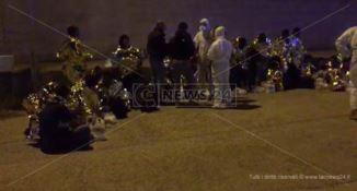 Sbarco migranti a Roccella, fermati presunti scafisti