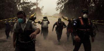 I soccorsi in Guatemala