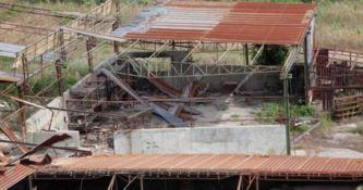 Il sito abbandonato della fornace La tranquilla, a San Calogero (VV)