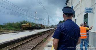 Nubifragio a Nicotera e Joppolo, 150 persone bloccate da ore su un treno