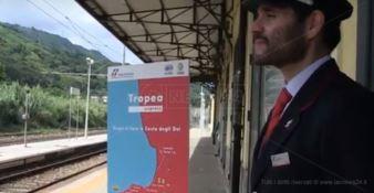 """La Costa degli Dei in treno, parte """"Tropea Express"""" -VIDEO"""
