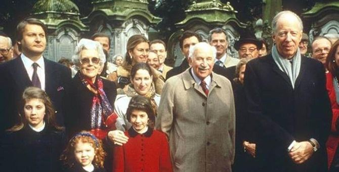La famiglia Rothschild