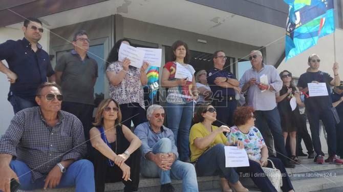Dipendenti comunali di Lamezia in sciopero