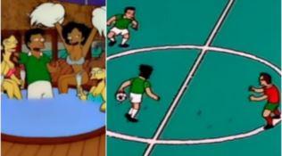 """La finale del Mondiale di Russia """"profetizzata"""" dai Simpson"""