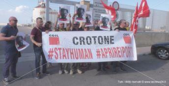 Immigrazione, la Cgil scende in piazza per la riapertura dei porti
