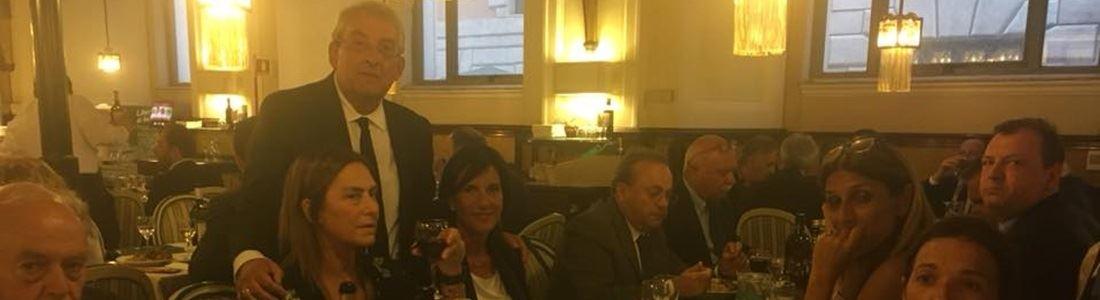 La cena in Senato per promuovere il peperoncino calabrese