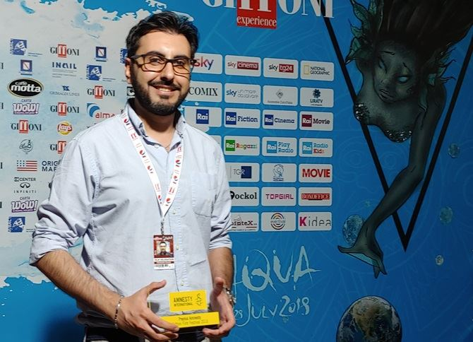 Alessandro Grande premiato al Giffoni Film Festival