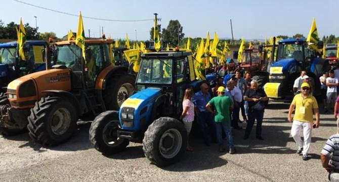 Protesta Coldiretti