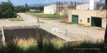 I cittadini di Ravagnese: «Chiudete quel depuratore» -VIDEO