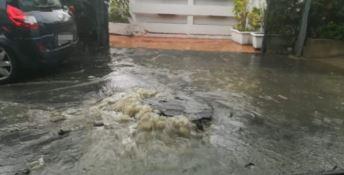 Bomba d'acqua nel Catanzarese, smottamenti tra Simeri e Sellia Marina
