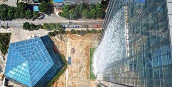 La cascata artificiale cinese