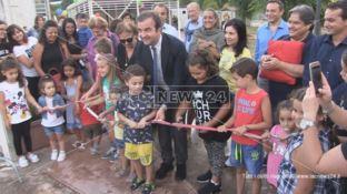 Cosenza, Città dei ragazzi: inaugurato il Parco gonfiabili -VIDEO