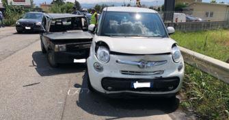 Incidente stradale a Zumpano, coinvolte due auto