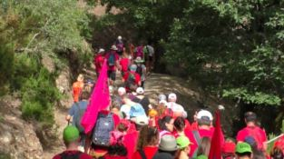 San Luca, la marcia di Pietra Cappa in nome di Lollò Cartisano