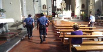 L'interno della cattedrale di San Pantaleone a Vallo della Lucania