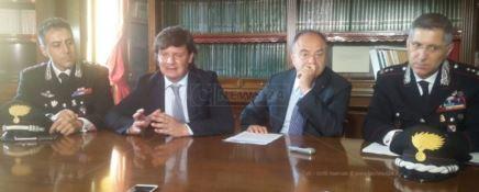 Il procuratore Gratteri nel giorno della conferenza stampa
