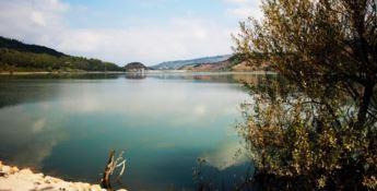 Il lago Angitola