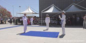 Si insedia il nuovo comandante della Capitaneria di Porto di Crotone -VIDEO