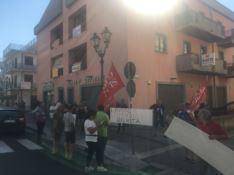 Senza stipendio da due mesi, i lavoratori di Locride Ambiente in protesta