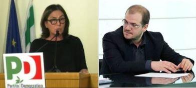 Enza Bruno Bossio e Luigi Guglielmelli