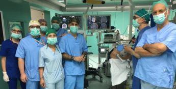 All'ospedale Pugliese arriva un neuronavigatore per localizzare i tumori al cervello