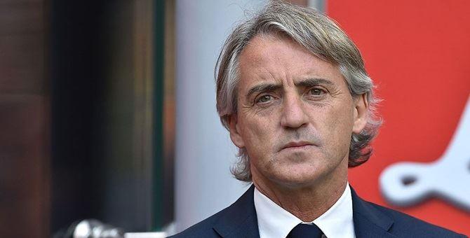 Il commissario tecnico della Nazionale Italiana Roberto Mancini