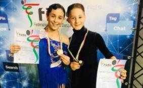 DANZA SPORTIVA | Due vibonesi campioni d'Italia: la storia dei baby talenti Antonio e Ilaria