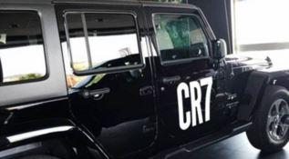 Tutti pazzi per CR7. A Roccella spunta una jeep...personalizzata