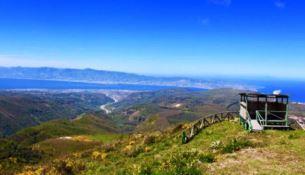 Panorama Passo del falco