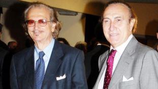 Il maestro Caruso e il conduttore tv Pippo Baudo