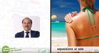 Esposizione al sole, il WhatsApp del dottor Valenti