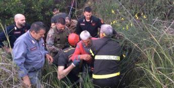 I Cacciatori di Calabria salvano un anziano dopo una notte tra i rovi