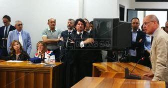 L'insediamento di Giovanni Bombardieri nuovo procuratore di Reggio Calabria