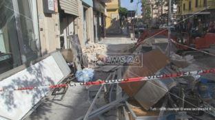 Esplosione a Cosenza, al vaglio le immagini delle telecamere