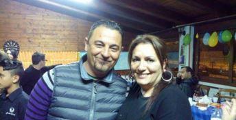 Le vittime dell'esplosione, Saverio Romano e Rita Murgeri