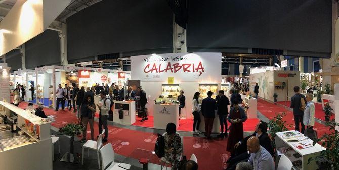 Lo stand della Regione Calabria a Cibus 2018