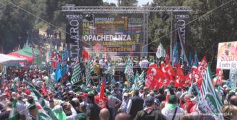 Lavoro e sicurezza: i sindacati festeggiano il Primo Maggio alla Montagnella di Carfizzi - VIDEO