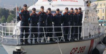 L'equipaggio premiato ad Atene