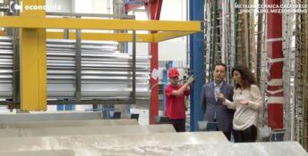 Metalmeccanica calabrese che contrasta la crisi e si fa spazio sui mercati - VIDEO