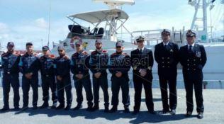 Eroi del mare, la motovedetta Cp 265 torna a Vibo Marina