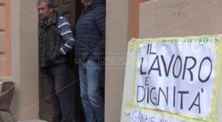In disoccupazione forzata da 18 mesi: lavoratori in protesta - VIDEO