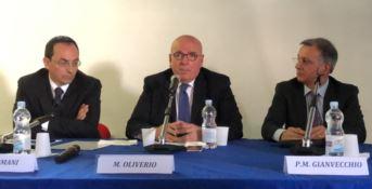 Gian Vittorio Armani, Mario Oliverio e Pietro Mario Gianvecchio