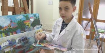 L'arte di Francesco: la pittura vince sulla sindrome di Asperger - VIDEO