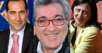 Bruno Censore, Demetrio Battaglia e Doris Lo Moro