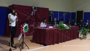 Maria Elena Boschi a San Luca: «Lo Stato c'è ed è presente» FOTO-VIDEO
