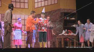 Pinocchio, il musical della Compagnia delle Alghe al Rendano di Cosenza - VIDEO
