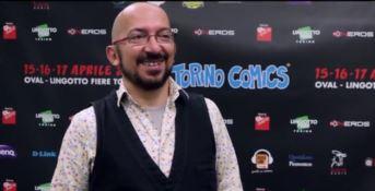 Il doppiatore Fabrizio Mazzotta