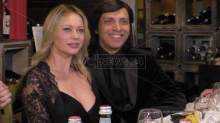 Anna Falchi e AntonGiulio Grande
