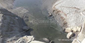 Sversamento fognario sulla spiaggia di Catanzaro Lido