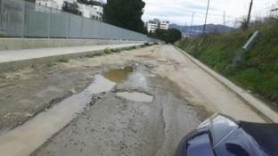 Cosenza, Nucci: «Via dell'Accoglienza ridotta a mulattiera»